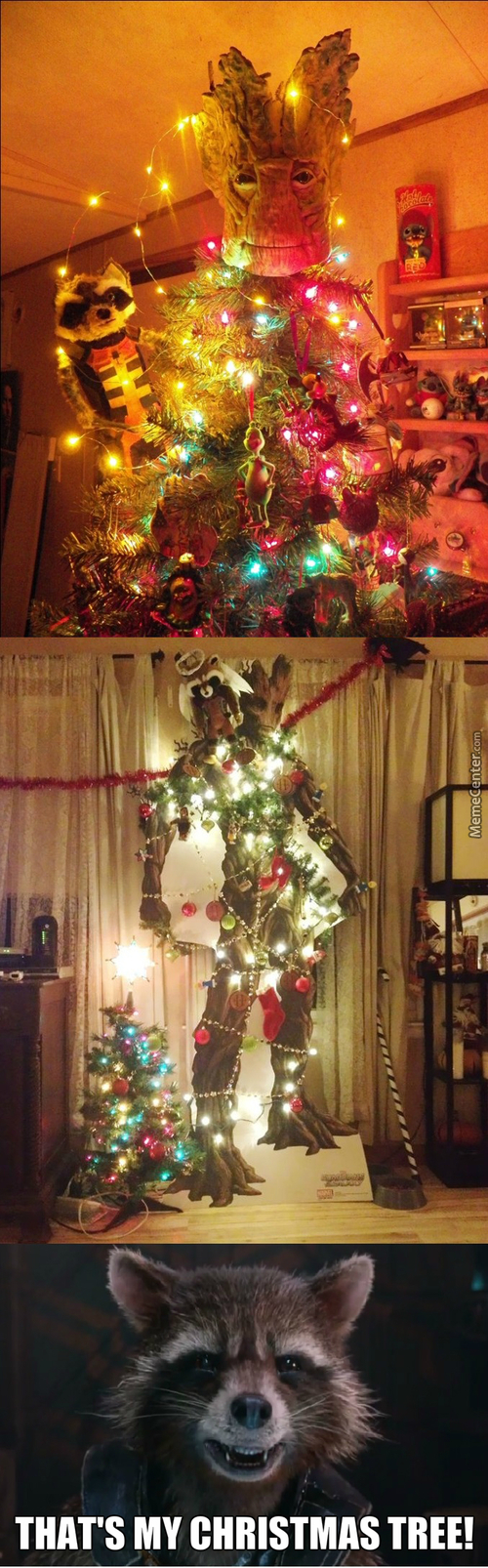I'm Not Gonna Lie, A Groot Christmas Tree Would Be Awesome In My Living Room...