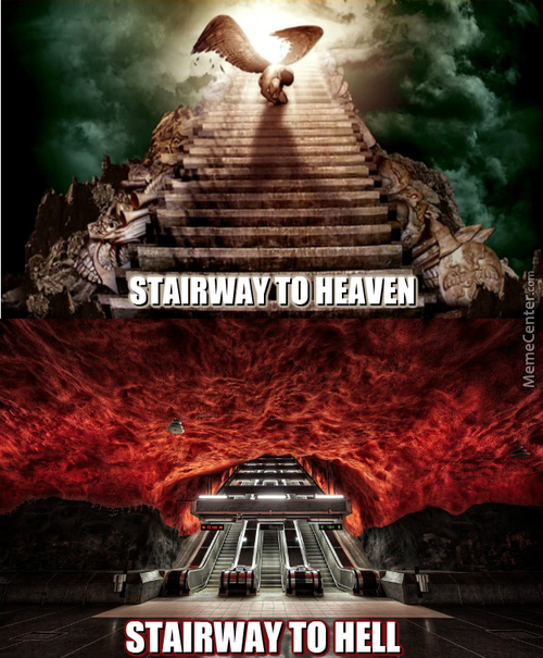 I'm On A Highway To Hell!