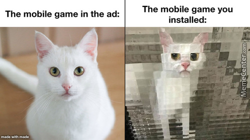I'M Talking About You, *Insert Any Mobile Game To Have Ever Been Advertised*