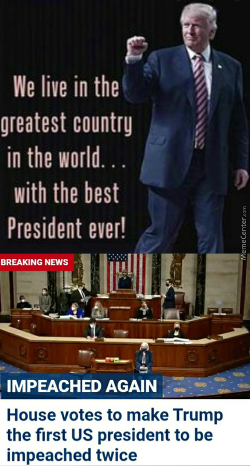 I'M The Best At Being Impeached!