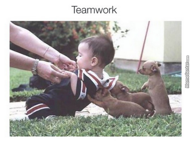 I'm The One Who Motivates My Teammates(Stands Around And Barks Orders)