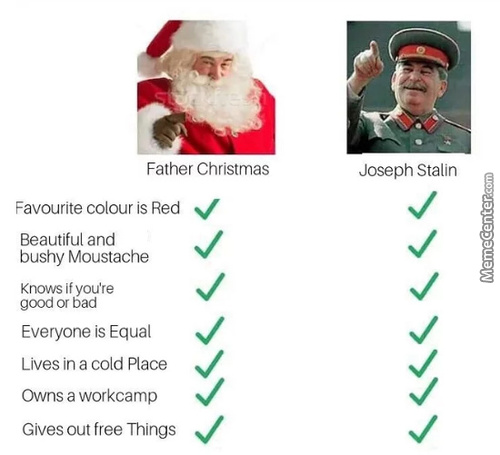 I'm Waiting For My Christmas Present From Stalin Tho