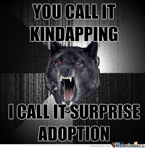 I Call It Surprise Adoption
