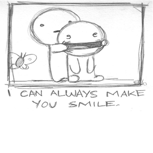 I Can Always Make You Smile By Recyclebin Meme Center