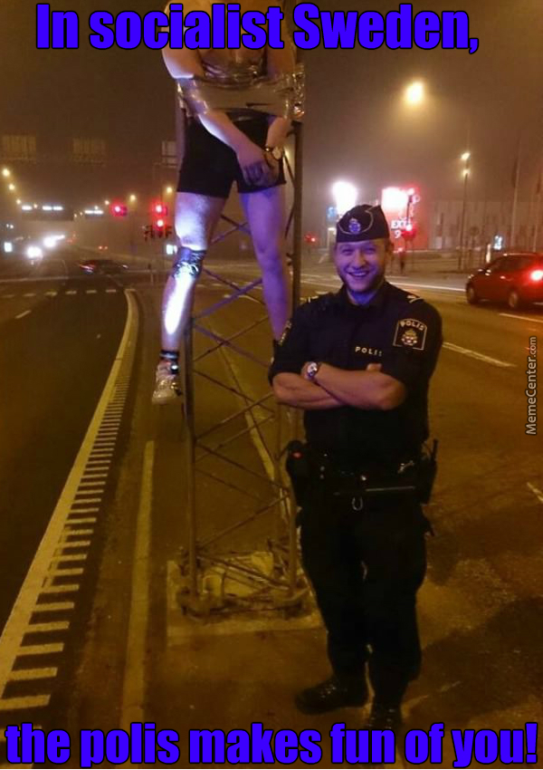 I Can't Stop Laughing, His Face Is The Best, How And Why Is The Guy Strapped To A Post. Everything Is Right. Sweden.