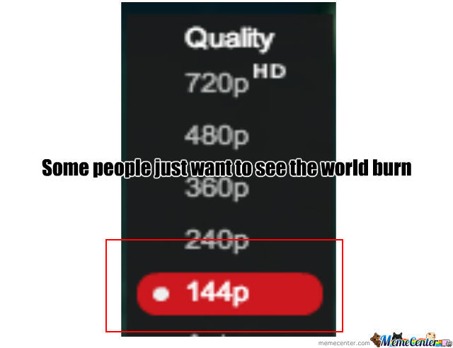 I Can Barely Watch It At 240P