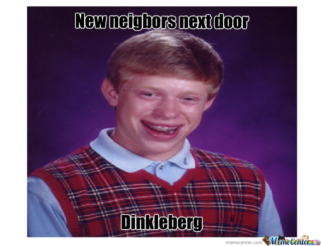 I Can't Think Of A Title. Dinkleberg -.-