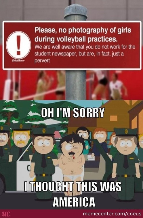 I Demand My Right To Take Pictures Of Volleyball Matches