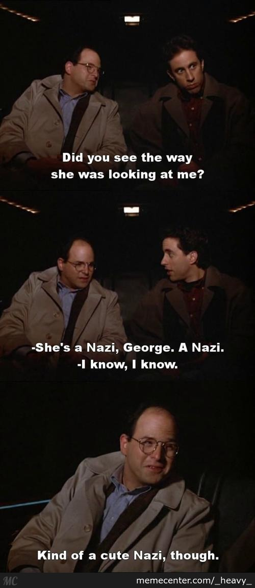 I Did Nazi What He Sees In Her