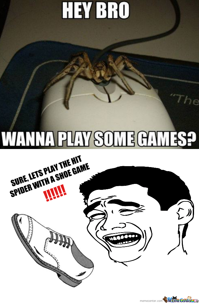 I Don't Really Like Spiders, At All