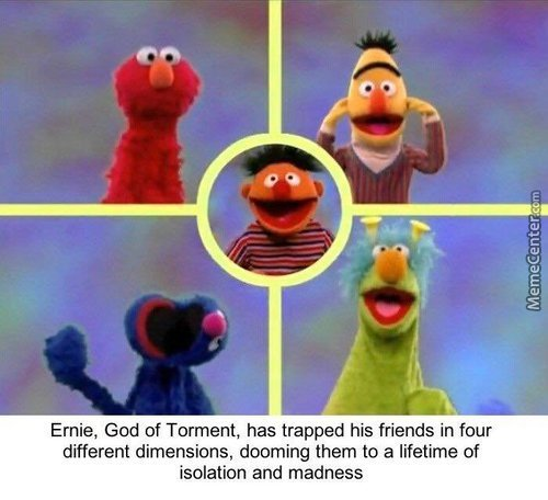 I Don't Remember Sesame Street Being This Dark