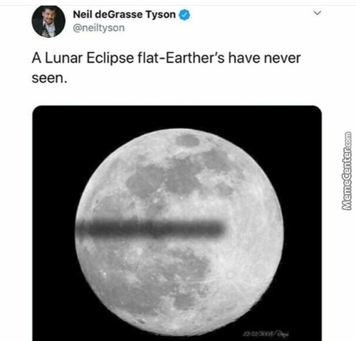 I Don't Think An Eclipse Exist In A Flat Earth