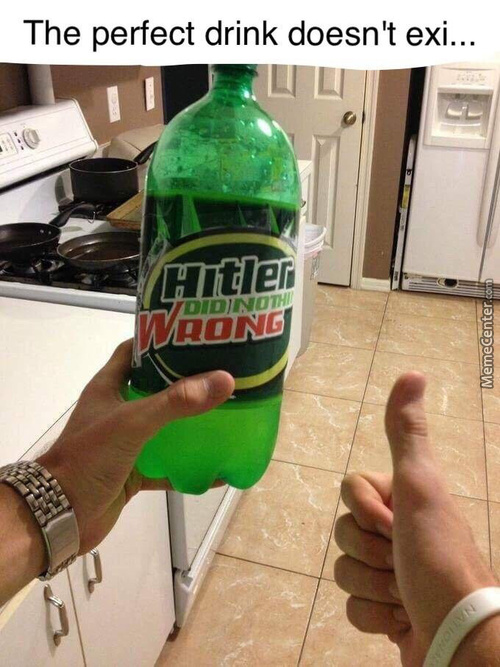 I Drank This During Hitlers Birthday Yesterday