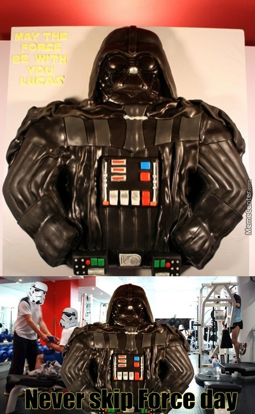 I Find Your Lack Of Lifting Disturbing