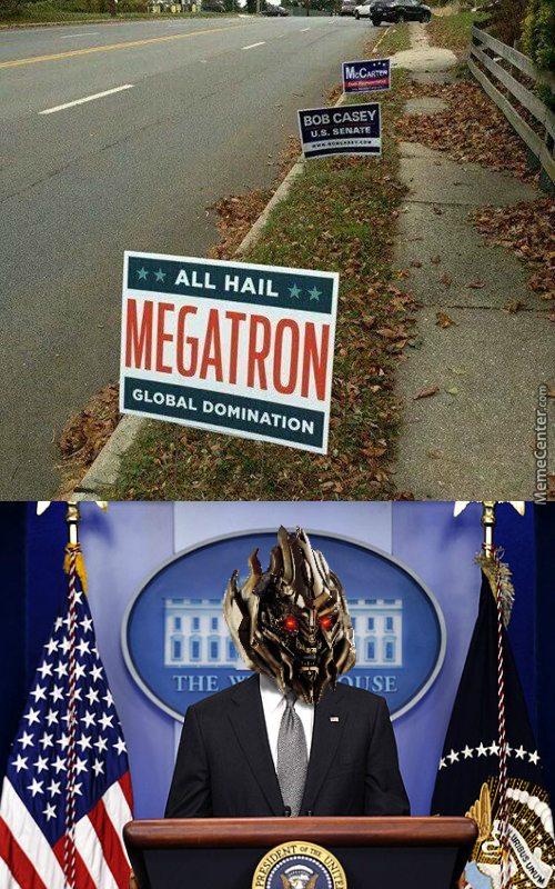 I For One Welcome Our New Decepticon Overlords