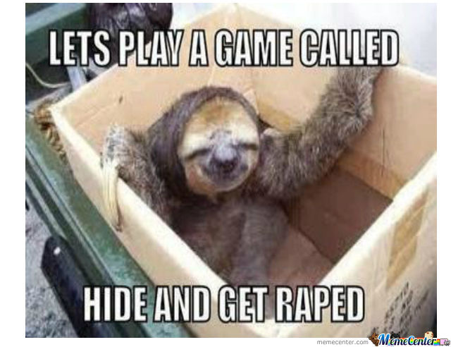 I Fucking Love Sloths!
