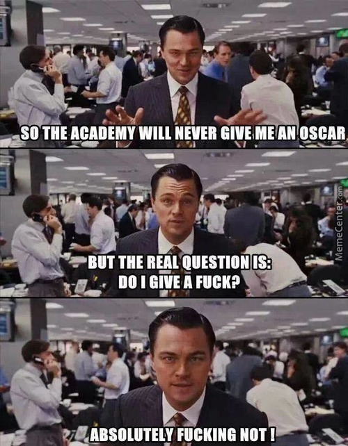 I Got 99 Problems And An Oscar Aint One.