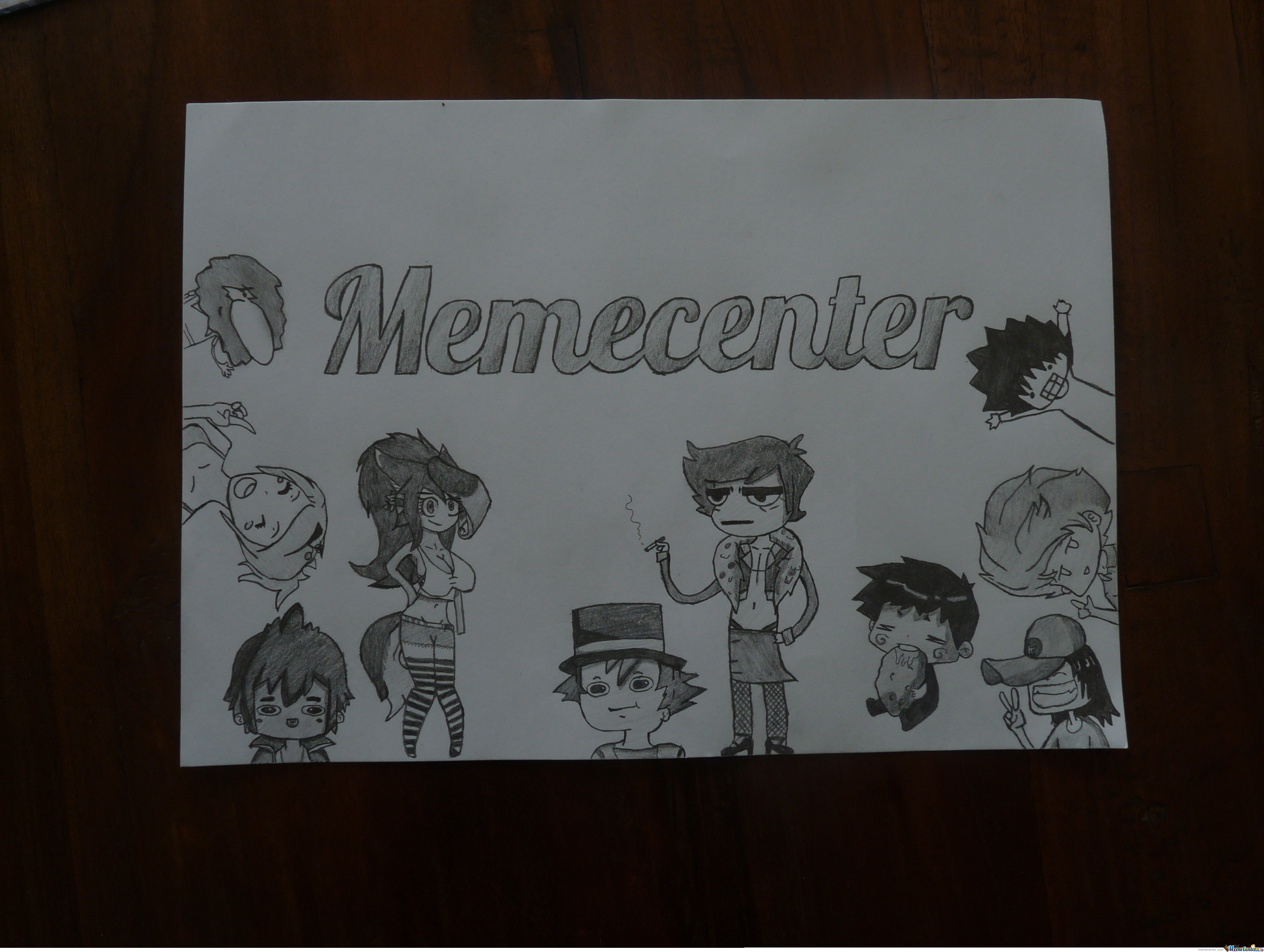 I Got Bored Today And Ended Up Drawing This.