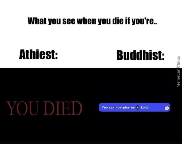 I Guess I'M A Buddhist Now