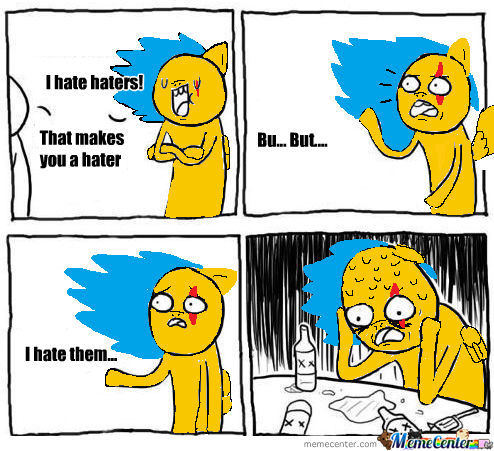 I Hate Haters!