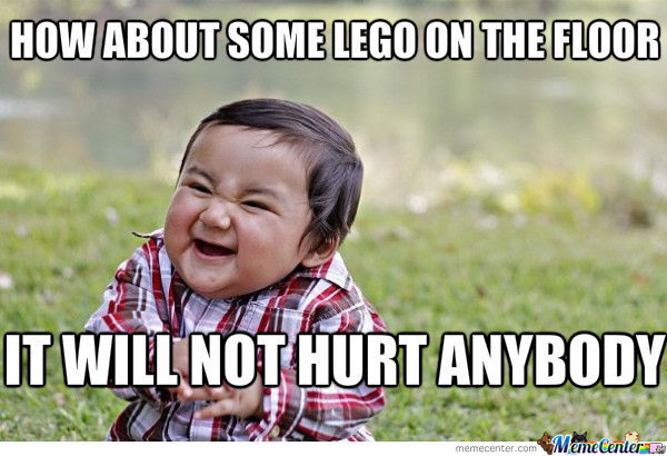 I Hate Lego On The Floor