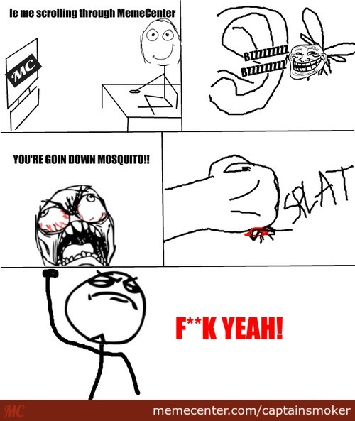 I Hate Mosquitoes!!