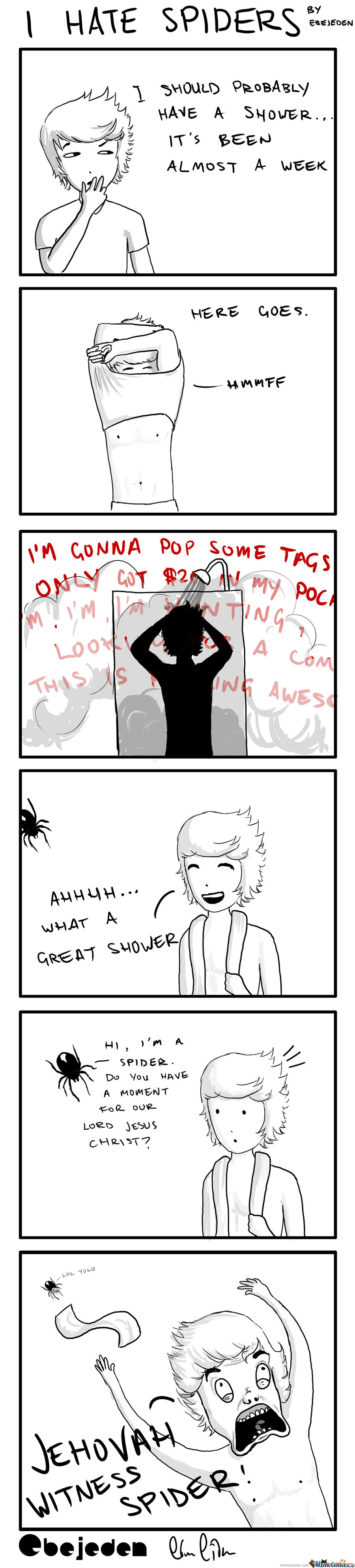 I Hate Spiders