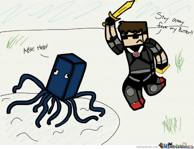I Hate Squids Like Skydoesminecraft