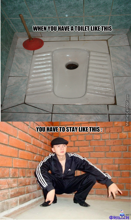 I Hate That Kind Of Toilet !