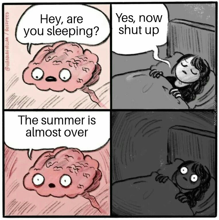 I Hate The Last Days Of Summer
