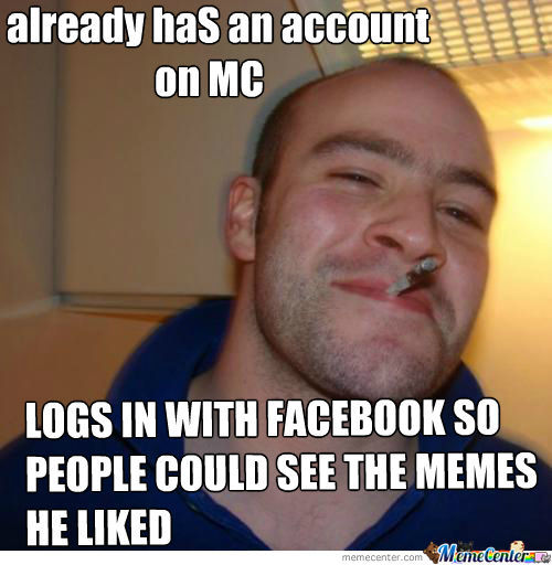 I Have A Real Account But I Loged In With Facebook