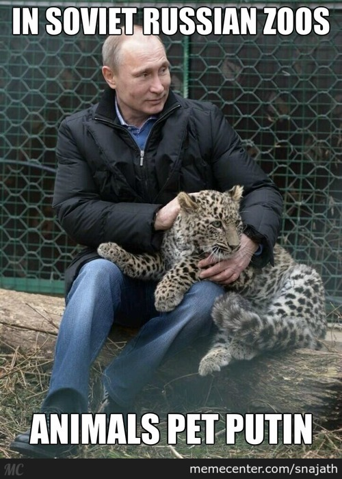 I Heard Putin Is Quite Dangerious...