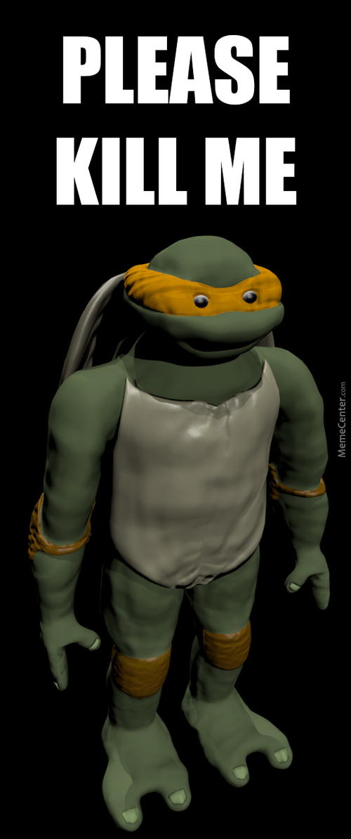 I Heard Some Of You Complaining About The 3D Models Of Tmnt. Well... It Can Be Worse...