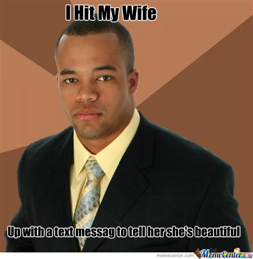 I Hit My Wife