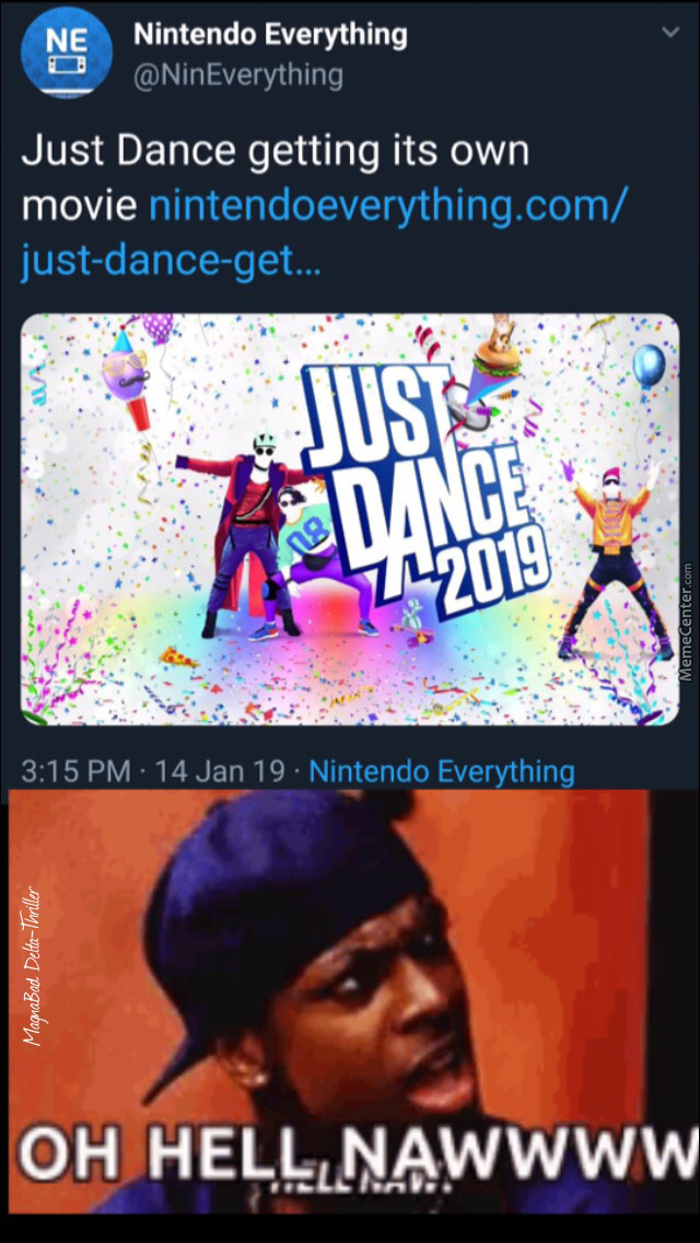 I Honestly Didn'T See That Coming But Just Dance, Stick To Your Game