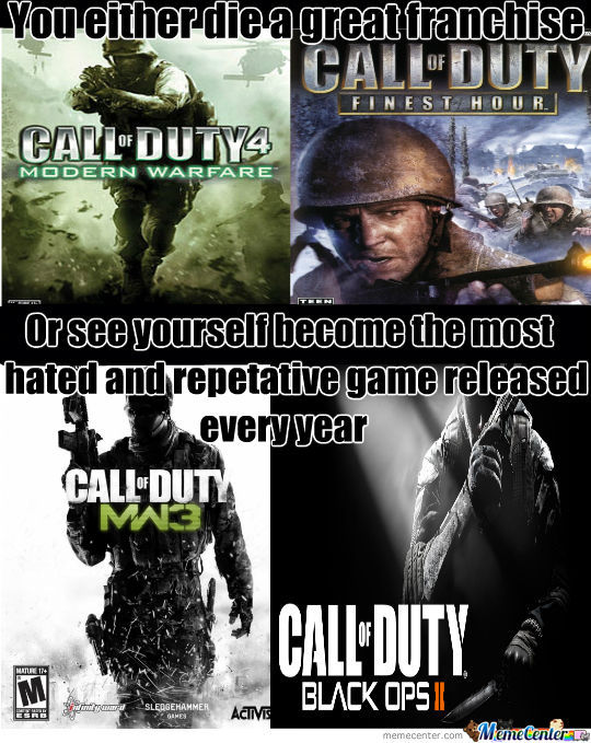 I Just Hate Cod