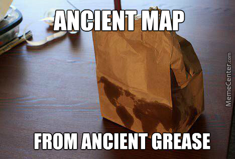 Meme about Ancient Greece because they study that in this course.
