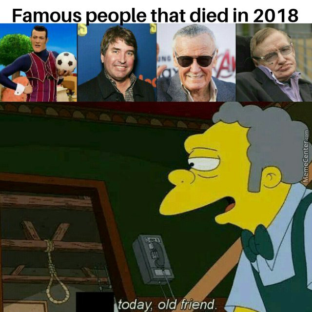I Know Im Late But Rip In Peace