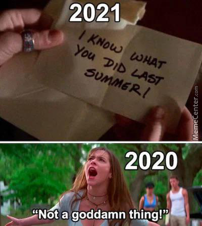 I Know What You Did Last Summer!!!