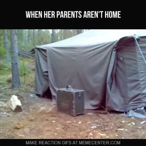 & I Live In A Tent With My Waifuu0026raifu; by d3athstar - Meme Center