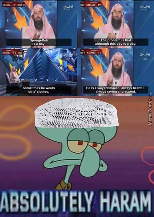 I Love How With All The Shit Going On In The Middle East There Is Still Time To Question Spongebob Sexuality