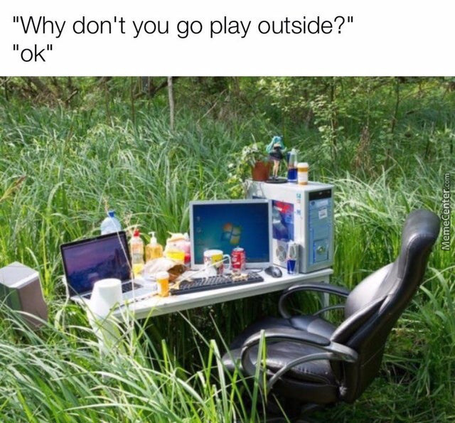 I Love Playing Outside