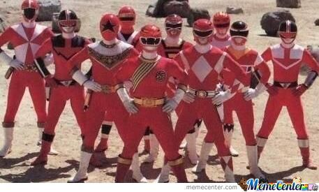 I Love Red Ranger Oh No Red Ranger Attack