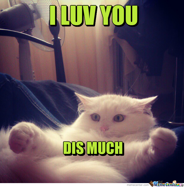 i luv you dis much_o_1638797 i luv you dis much by clairvoyant meme center