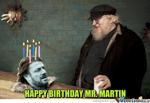 I Made A Cake For George R.r Martin's Birthday