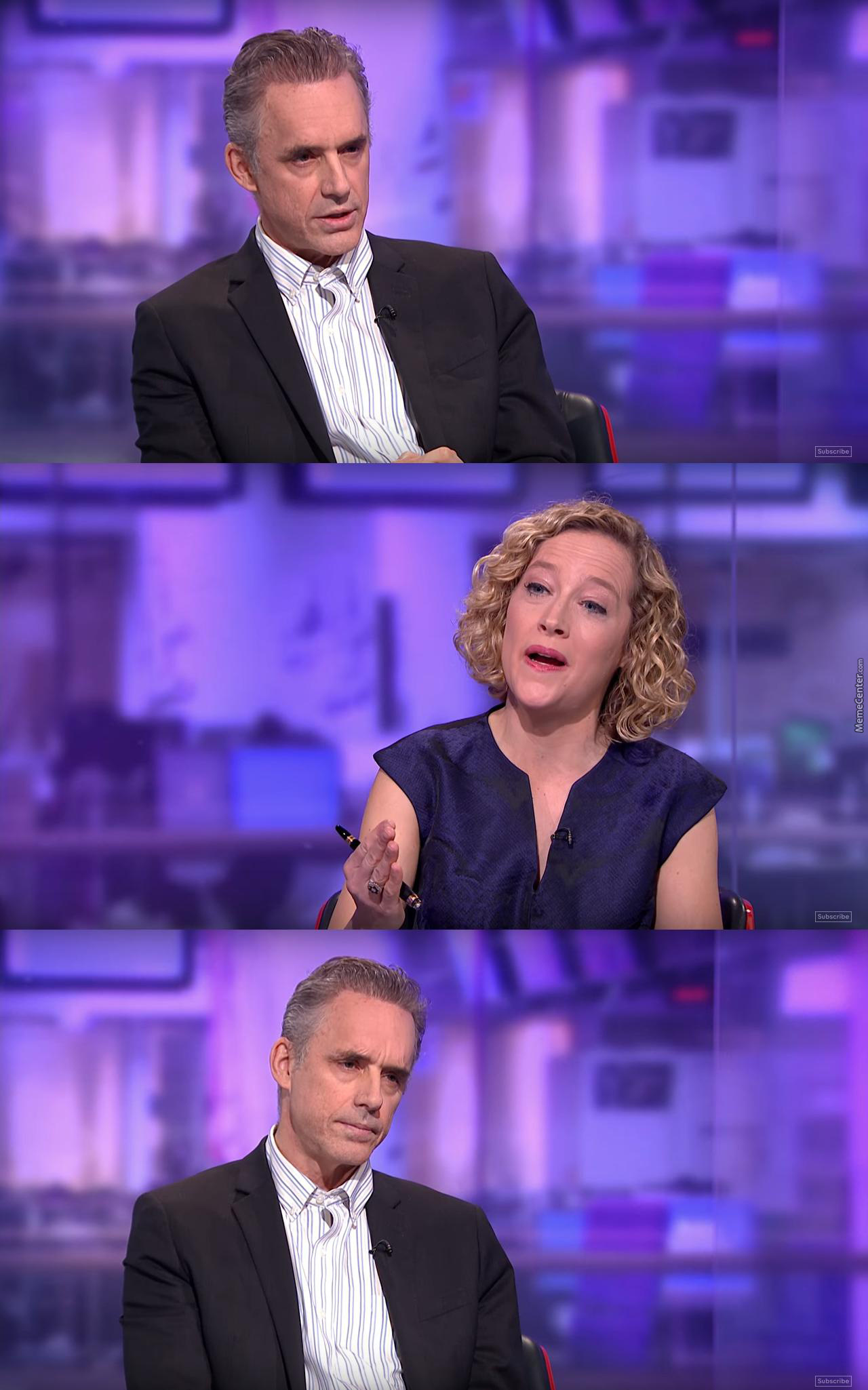 i made a high res blank for the cathy newman memes_o_7211105 i made a high res blank for the cathy newman memes by teh_bugman