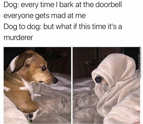 I Mean You Never Know, A Murderer Needs To Get In Somehow, And The Door Is A Very Logical Way