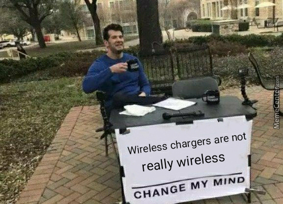 I Mean You Still Have To Plug It In