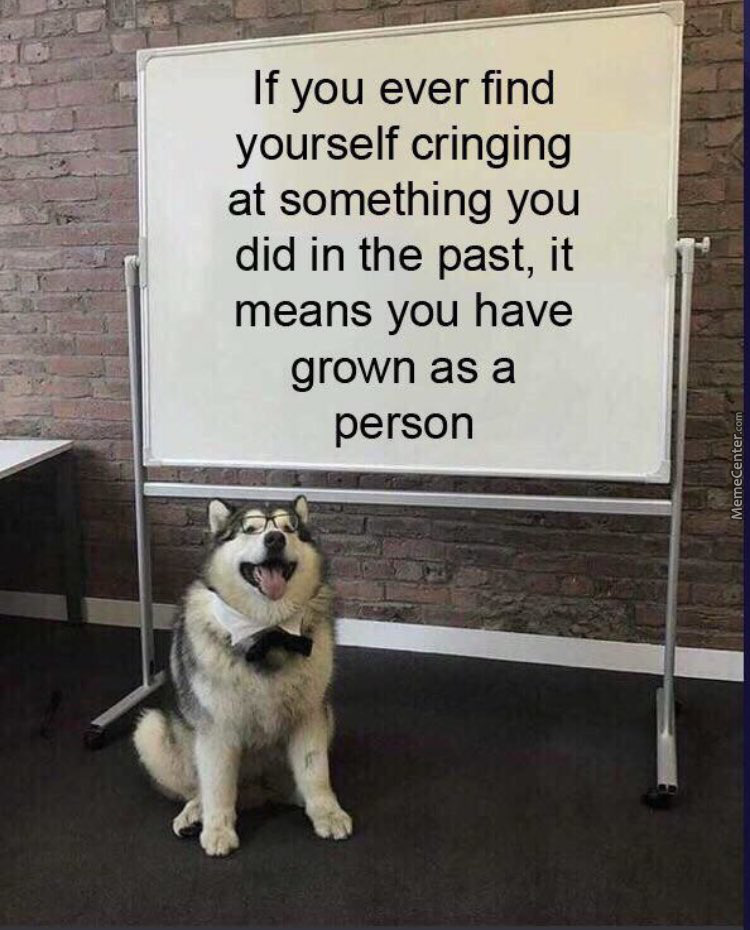 I Meant, Woof!