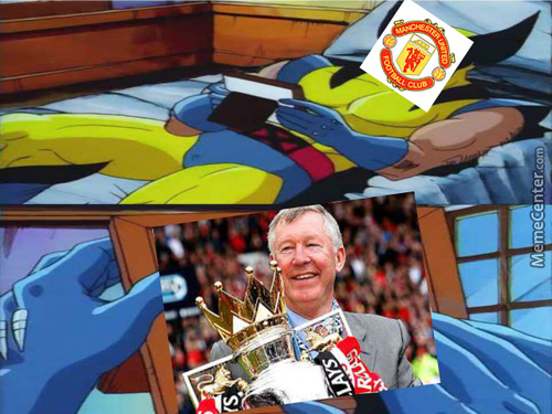 I Miss You Sir Alex!! (Sorry For The Bad Quality)
